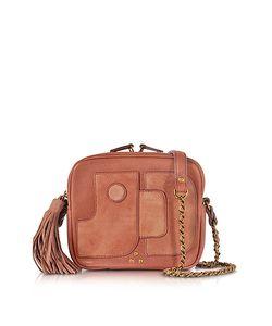 Jerome Dreyfuss | Pascal Rose Leather Shoulder Bag