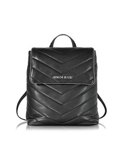 ARMANI JEANS | Quilted Eco Leather Backpack