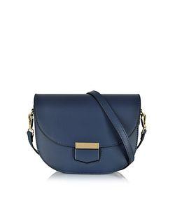 Le Parmentier | Clio Smooth Leather Shoulder Bag W/Flap
