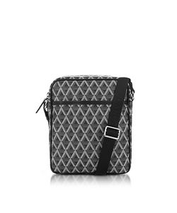 LANCASTER PARIS | Ikon Coated Canvas Crossbody Bag