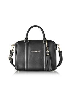 LANCASTER PARIS | Mademoiselle Ana Grained Leather Small Duffle Bag
