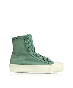 MM6 Maison Martin Margiela | Mint Canvas Sneakers
