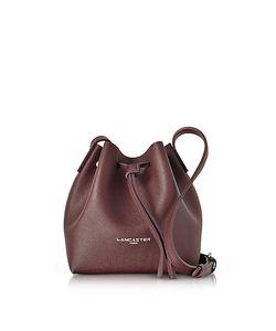 LANCASTER PARIS | Pur Element Saffiano Leather Mini Bucket Bag