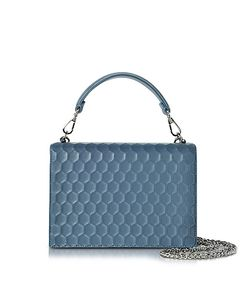 Rodo | Nappa On Mesh Celebration Clutch W/Top Handle