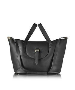 meli melo | Leather Thela Medium Tote Bag