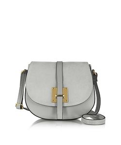 Le Parmentier | Pearl Leather And Suede Crossbody Bag