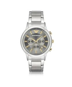 Emporio Armani | Stainless Steel Mens Chronograph Watch W Dial