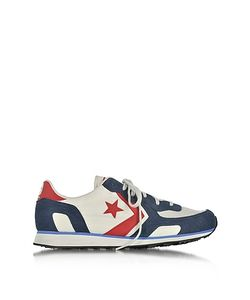 Converse Limited Edition | Auckland Racer Distressed Ox Vaporous Gary/Athletic Navy Mens Sneakers