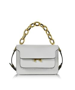 Marni | Pelican Leather Mini Trunk Bag W/Chain