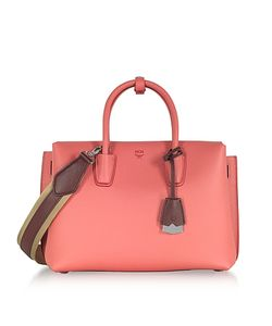 MCM | Milla Park Avenue Medium Leather Tote Bag