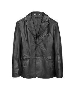 Forzieri | Leather Mens Blazer