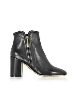 Rodo | Leather Heel Ankle Boots
