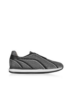 Rodo | And Lurex Slip On Sneakers W Studs