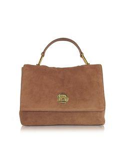 Coccinelle | Liya Terra Suede Satchel Bag