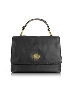 Coccinelle | Liya Grainy Leather Satchel Bag