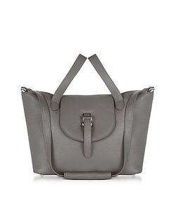 meli melo | Elephnat Leather Thela Medium Tote Bag