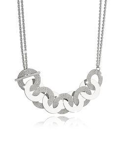 Rebecca | R-Zero Rhodium Over Bronze And Steel Maxi Chain Necklace