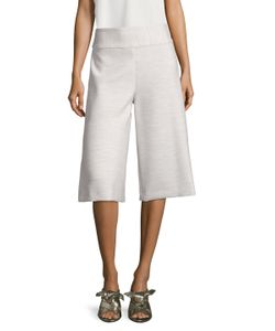 Nicole Miller | Stretchy Tech Split Wide Leg Pant
