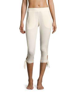 C & C California | Lace Trim Jogger Pants