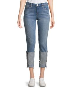 BLANKNYC | Distressed Cropped Jeans