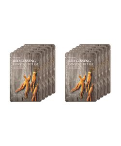 The Face Shop | Real Nature Ginseng Face Mask Collagen Boosting Set 10