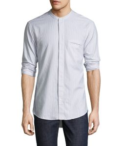 Shades Of Grey By Micah Cohen | Band Collar Cotton Sportshirt
