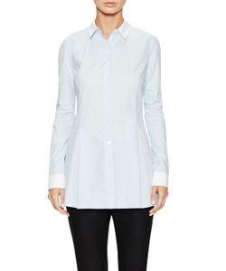 JI OH | Contrast Classic Collared Shirt