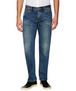 JEAN SHOP | Faded Rocker Straight Jeans