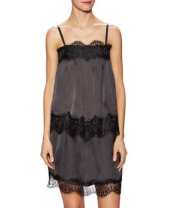 Lucca Couture | Charmeuse Lace Trim Camisole