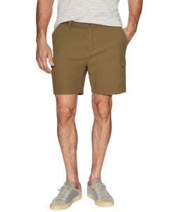 Shades Of Grey By Micah Cohen | Woven Cotton Cargo Shorts