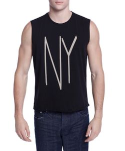 Earnest Sewn   Troy Ny Cotton Muscle Tee