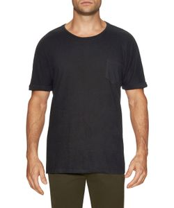 Shades Of Grey By Micah Cohen | Rolled Cuff Pocket Tee