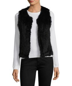 525 America | Rabbit Fur Vest