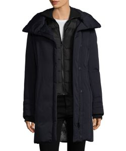 Soia & Kyo | Alsia Cotton Down Hooded Coat