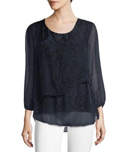 Le Marais | Layered Silk Top