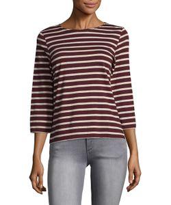 SAINT JAMES®   Galathee Cotton Striped Top