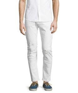 DAVID NAMAN | Slim Ripped Jeans