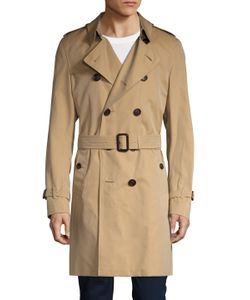 Burberry Brit | Spread Collar Belted Trench Coat