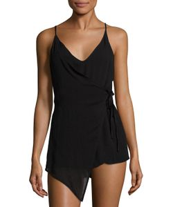 Lucca Couture | Faux Wrap Romper