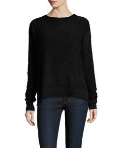 SHAE | Knit Cotton Crewneck Sweater
