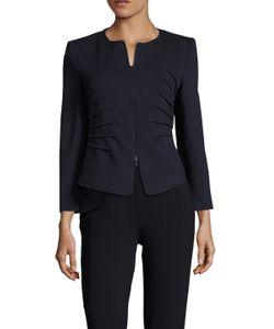 Armani   Collarless Side Pleat Jacket
