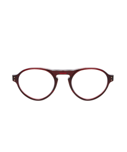 LINDA FARROW LUXE | 107 Keyhole Round Optical Frame