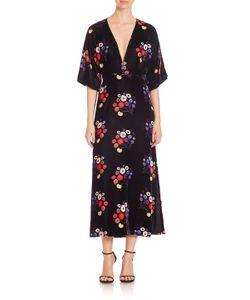 TANYA TAYLOR | -Print Midi Dress