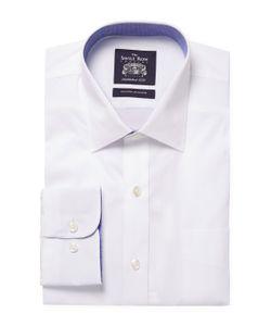 Saville Row | Cotton Spread Collar Dress Shirt