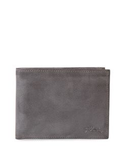 Longchamp | Distressed Leather Bifold Wallet