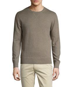 Life After Denim | Tournament Cotton Cashmere Crewneck Sweatshirt
