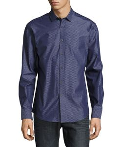 Vince Camuto | Two-Toned Button-Down Shirt