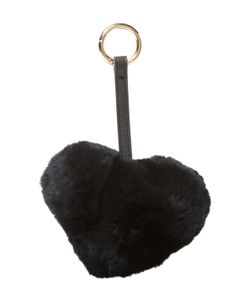 JOCELYN | Rex Rabbit Heart Keychain