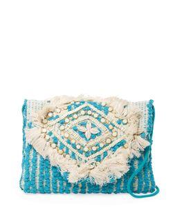 Antik Batik   Dari Embroidered Cotton Convertible Clutch