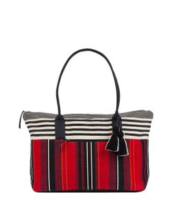 MERCADO GLOBAL | Dolores Cotton Stripe Weekender